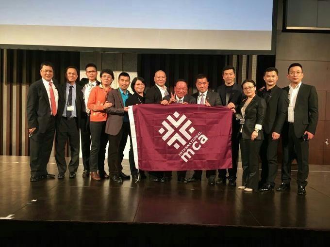 MCA学员出息亚洲经营者首脑峰会