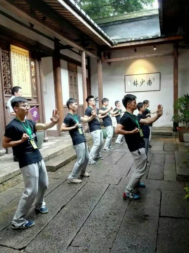 咏春拳第八代传人郑祖杰