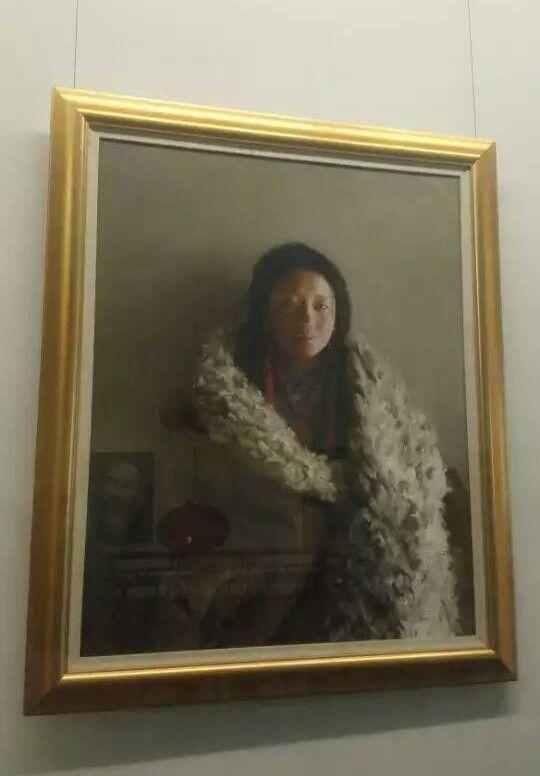 阿里巴巴馬云油畫藏品