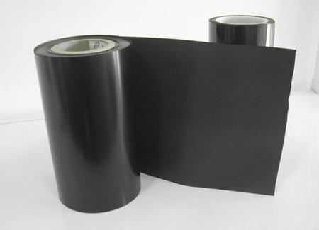 黑色PET磨砂膜